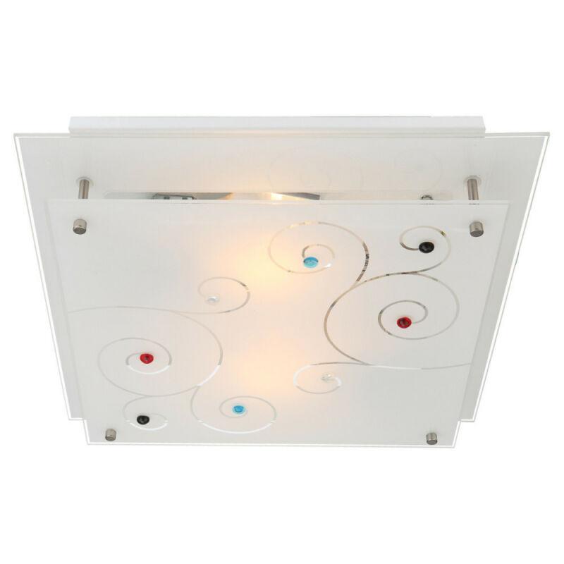 Globo REGIUS 48140-2 mennyezeti lámpa króm 2 * E27 ILLU max. 40 W E27 ILLU 2 db