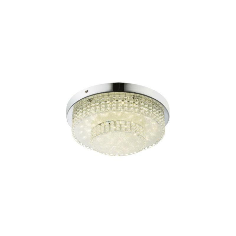 Globo CAKE 48213-16 mennyezeti kristálylámpa  króm   1 * LED max. 16 W   1410 lm  4000 K  A+