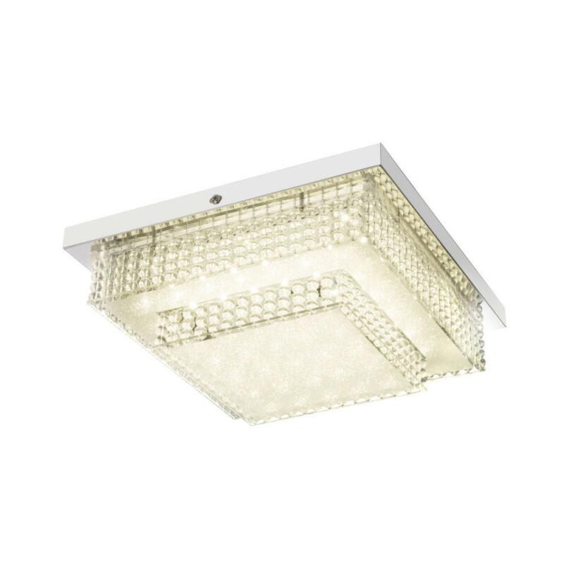 Globo CAKE I 48214-16 mennyezeti kristálylámpa króm 1 * LED max. 16 W LED 1 db 1410 lm 4000 K A+