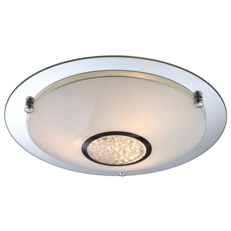 Globo EDERA 48339-3 mennyezeti kristálylámpa króm 3 * E27 ILLU max. 60 W E27 ILLU 3 db