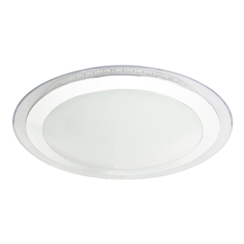 Globo NICOLE II 48395 mennyezeti lámpa  króm   műanyag   1 * LED max. 30 W   2400 lm  A