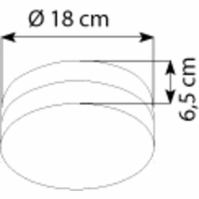 Globo OPAL 48401 mennyezeti lámpa  1 * E27 ILLU max. 60 W   E27 ILLU   1 db