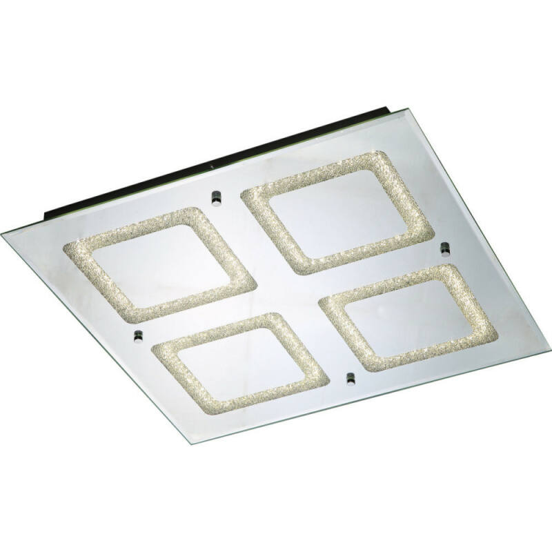Globo CYRIS 49229-24 mennyezeti kristálylámpa króm 1 x max. 24W LED 1 db 1440 lm 4000 K IP20 A+