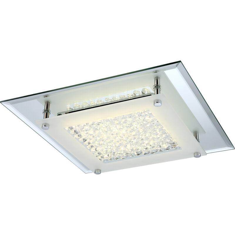 Globo LIANA 49300 mennyezeti kristálylámpa króm 1 * LED max. 12 W LED 1 db 1010 lm 4000 K A+