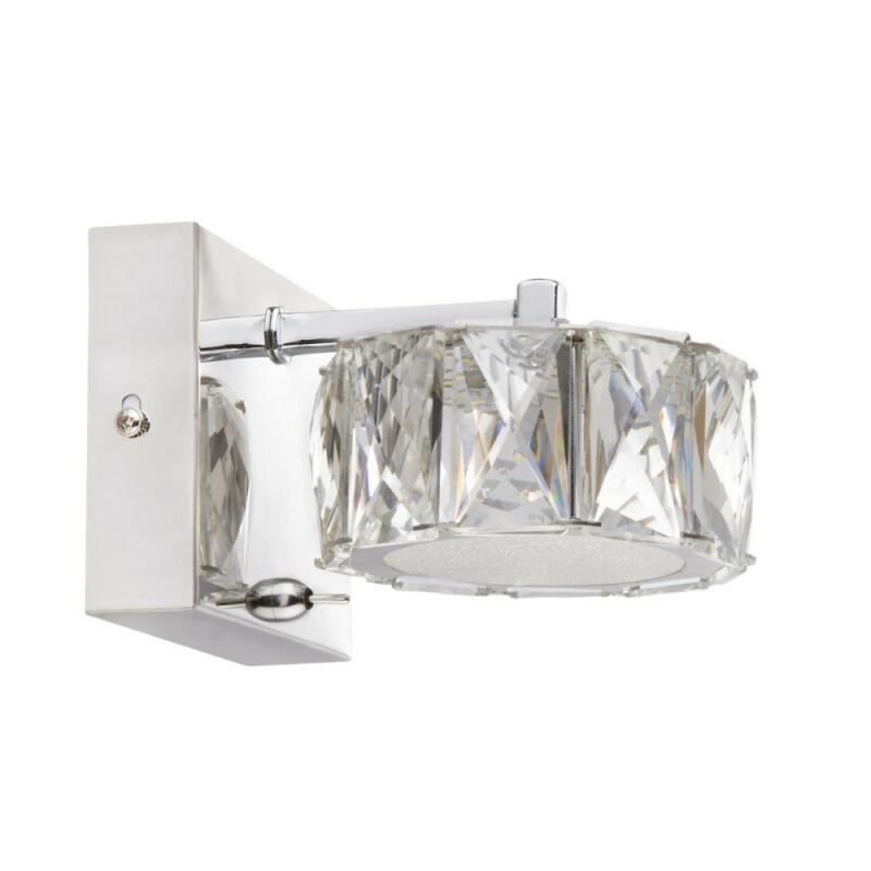 Globo AMUR 49350-1W fali lámpa króm 1 * LED max. 8 W LED 1 db 680 lm 4000 K A+