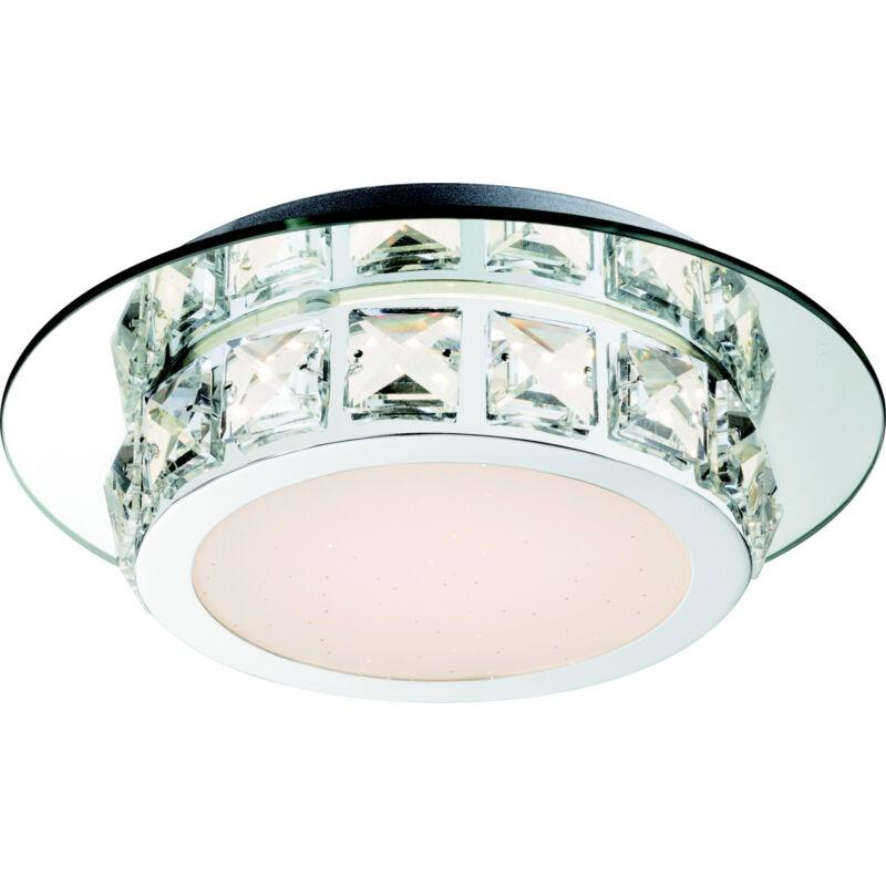 Globo MARGO 49356 mennyezeti kristálylámpa króm 1 * LED max. 12 W LED 1 db 720 lm 4000 K A+