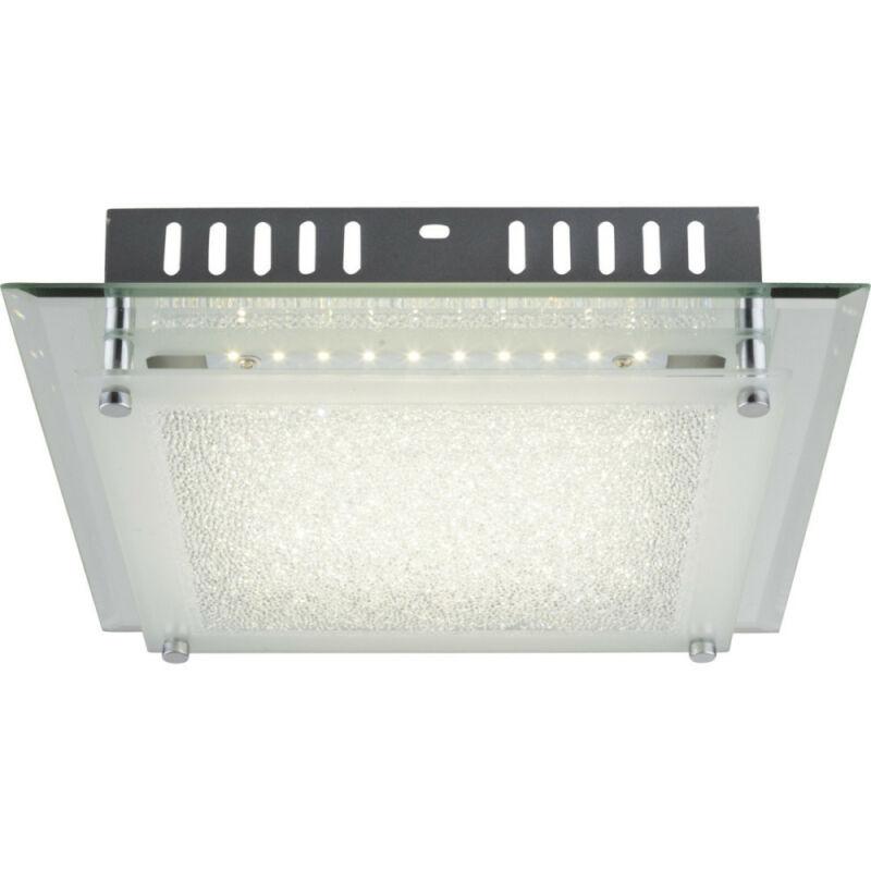 Globo AISHA 49357-12 mennyezeti kristálylámpa  króm   1 x max. 12W   LED   1 db  1010 lm  4000 K  IP20   A