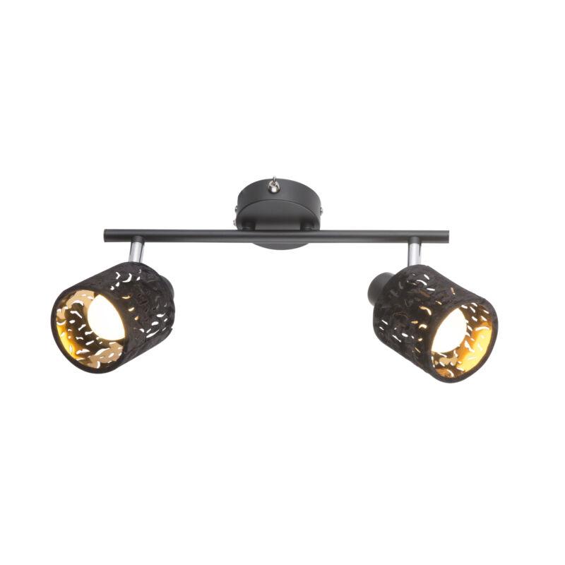Globo TROY 54121-2 mennyezeti lámpa  fekete   fém   2 * E14 max. 8 W   E14   2 db