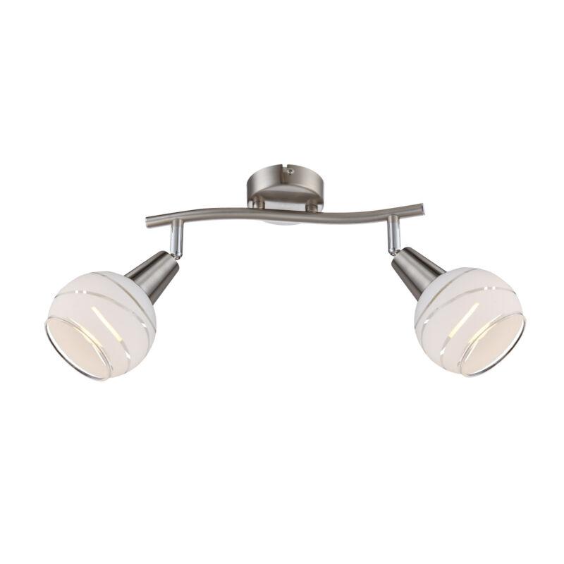 Globo ELLIOTT 54341-2 fali lámpa 2 * E14 LED max. 5 W E14 LED 2 db 320 lm 3000 K A+