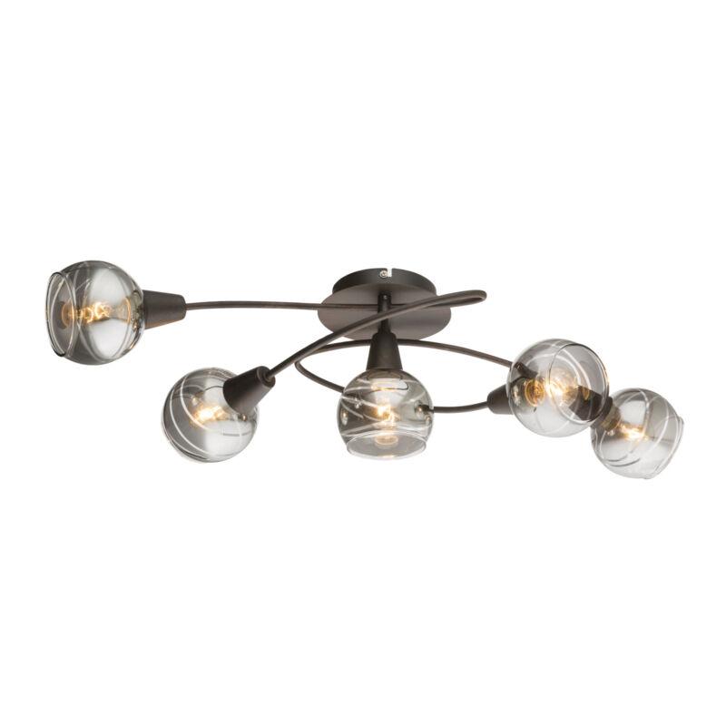 Globo ISLA 54347-5 mennyezeti lámpa bronz 5 * E14 LED max. 4 W E14 LED 5 db 196 lm 3000 K A+