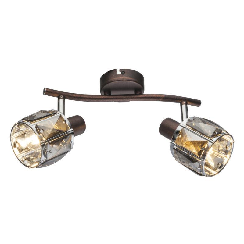 Globo INDIANA 54357-2 mennyezeti lámpa  bronz   fém   2 * E14 max. 40 W   E14   2 db