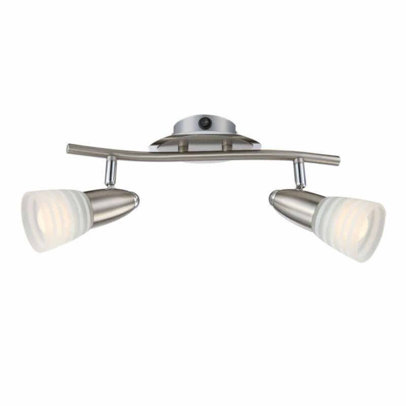 Globo CALEB 54536-2 fali lámpa kapcsolóval króm 2 x E14 max. 4w E14 2 db 400 lm 3000 K IP20 A+