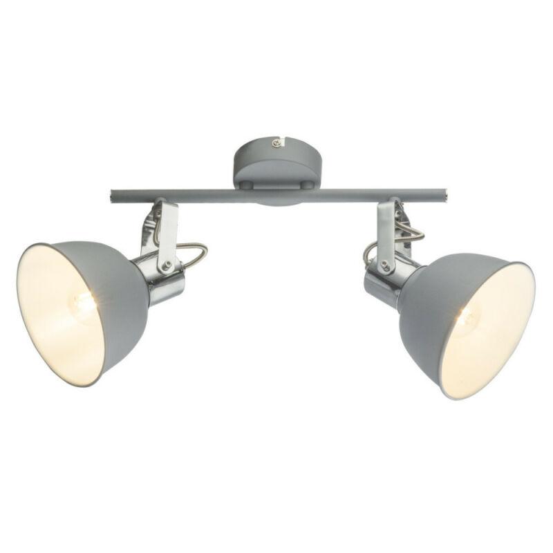 Globo GERDA 54640-2 mennyezeti lámpa  szürke   fém   2 x E14 max. 25W   IP20