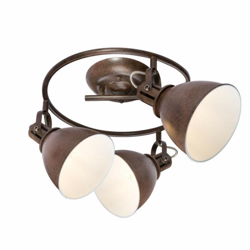 Globo GIORGIO 54647-3 mennyezeti lámpa rozsda 3 * E14 max. 40 W E14 3 db