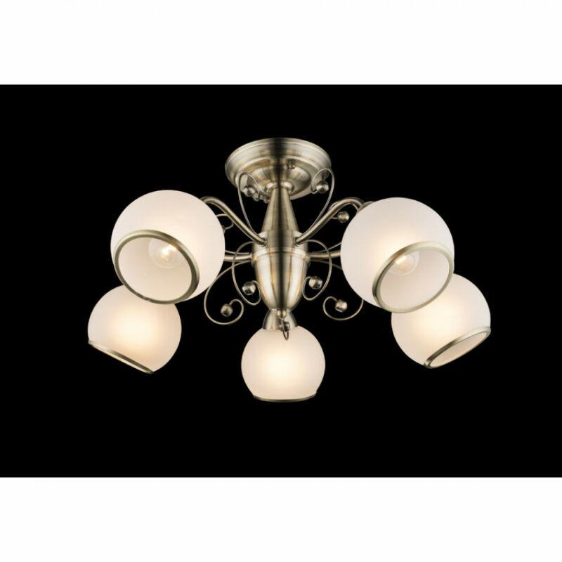 Globo COMODORO I 54713-5D mennyezeti lámpa  antik réz   5 * E14 max. 40 W