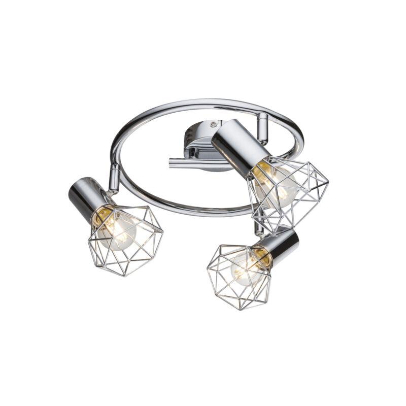 Globo XARA I 54802-3 mennyezeti lámpa króm 3 * E14 max. 40 W E14 3 db