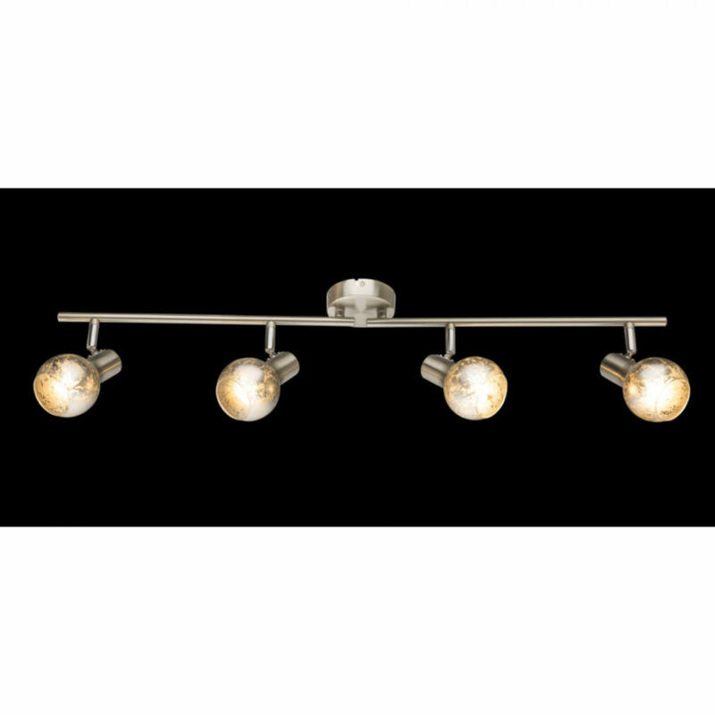 Globo ZACATE 54840-4 mennyezeti lámpa  matt nikkel   4 x E14 max. 25w   IP20