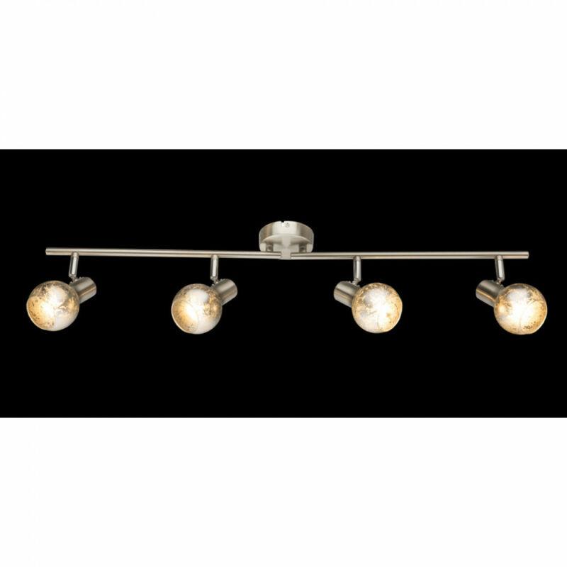 Globo ZACATE 54840-4 mennyezeti lámpa matt nikkel 4 x E14 max. 25w E14 4 db IP20
