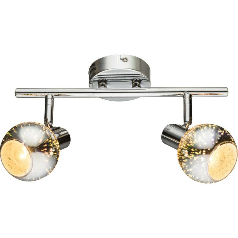 Globo KOBY 54845-2 mennyezeti lámpa króm 2 x E14 max. 40w E14 2 db IP20