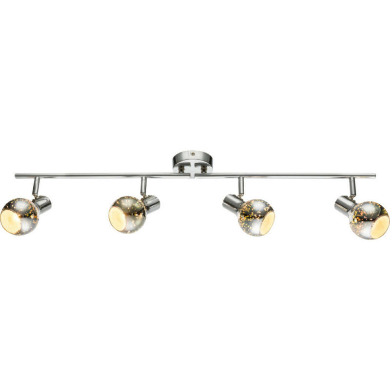 Globo KOBY 54845-4 mennyezeti lámpa króm 4 x E14 max. 40w E14 4 db IP20