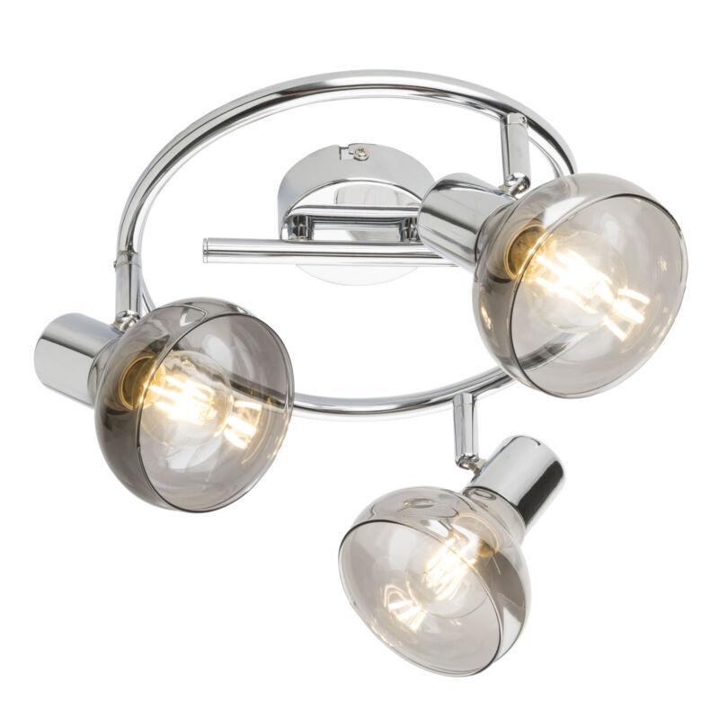 Globo LOTHAR 54921-3 mennyezeti lámpa króm fém 3 * E14 max. 40 W E14 3 db