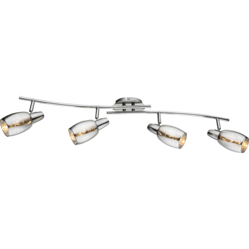 Globo CARSON 54986-4 mennyezeti lámpa króm 4 * E14 max. 40 W E14 4 db IP20