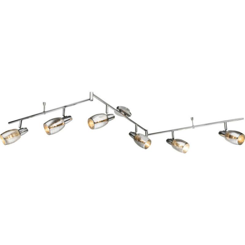 Globo CARSON 54986-6 mennyezeti lámpa  króm   6 x E14 max. 40w   IP20