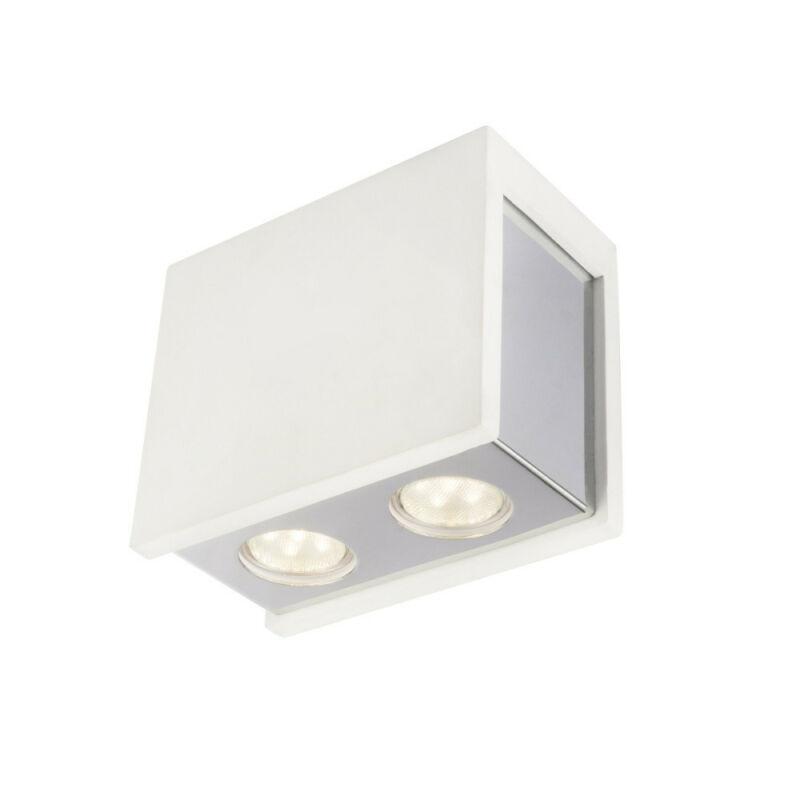 Globo CHRISTINE 55010-2 mennyezeti spot lámpa  fehér   gipsz   LED - 1 x 7,4W   390 lm  3000 K  IP20   A