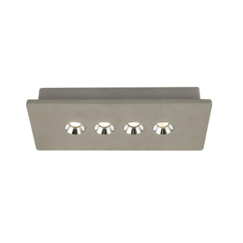 Globo TIMO 55011-4 mennyezeti spot lámpa  beton   beton   LED - 1 x 14,7W   760 lm  3000 K  IP20   A
