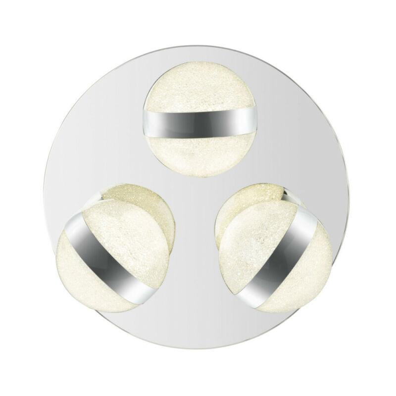 Globo TOBIAS 56007-3 mennyezeti lámpa  króm   fém   LED - 3 x 10W   950 lm  4000 K  IP20   A+