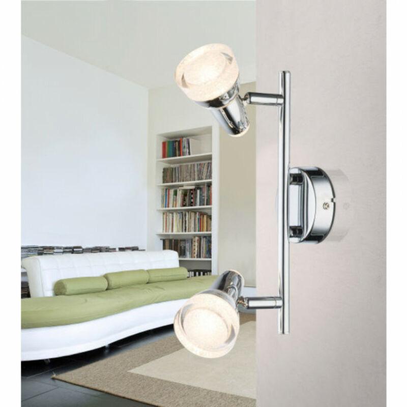 Globo ALASKA 56134-2 mennyezeti lámpa  króm   műanyag   2 * LED max. 4 W   LED   2 db  200 lm  3000 K  A