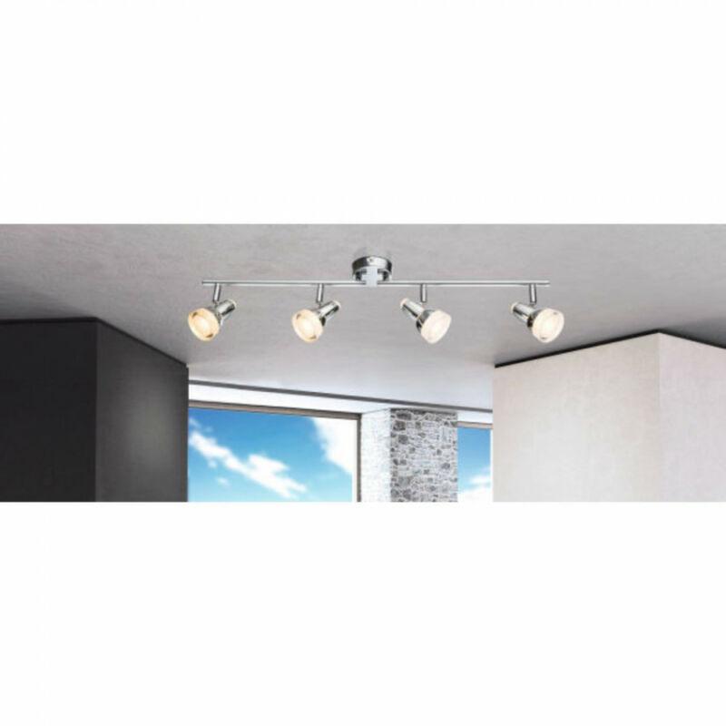 Globo ALASKA 56134-4 mennyezeti lámpa  króm   műanyag   4 * LED max. 4 W   200 lm  3000 K  A