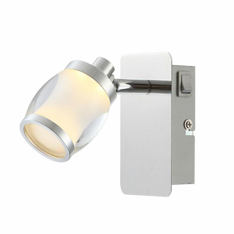 Globo COLORADO 56549-1 fali lámpa kapcsolóval 1 x max. 5W LED 1 db 405 lm 3000 K IP20 A