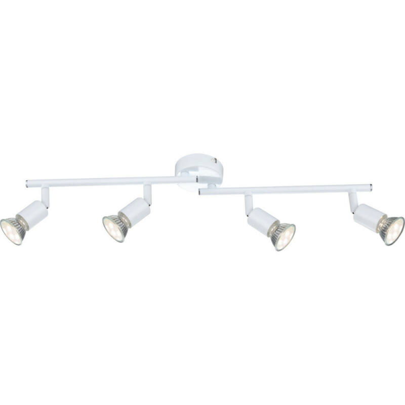 Globo OLANA 57381-4L mennyezeti spot lámpa 4 * GU10 LED max. 3 W GU10 LED 4 db 250 lm 3000 K A+
