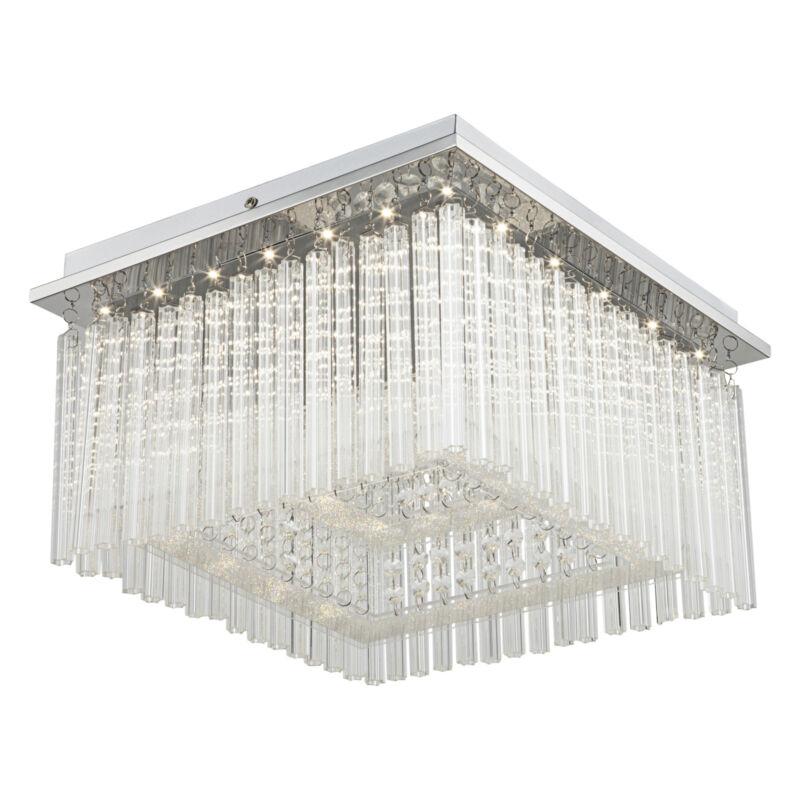 Globo VINCE 68567-21 mennyezeti kristálylámpa króm 1 * LED max. 21 W LED 1 db 1860 lm 4000 K A+