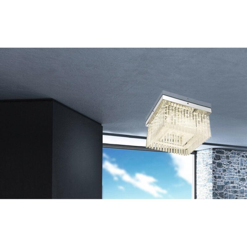 Globo VINCE 68567-21 mennyezeti kristálylámpa  króm   1 * LED max. 21 W   1860 lm  4000 K  A+