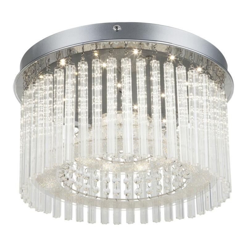 Globo JOYCE 68568-18 mennyezeti kristálylámpa króm 1 * LED max. 18 W LED 1 db 1600 lm 4000 K A+