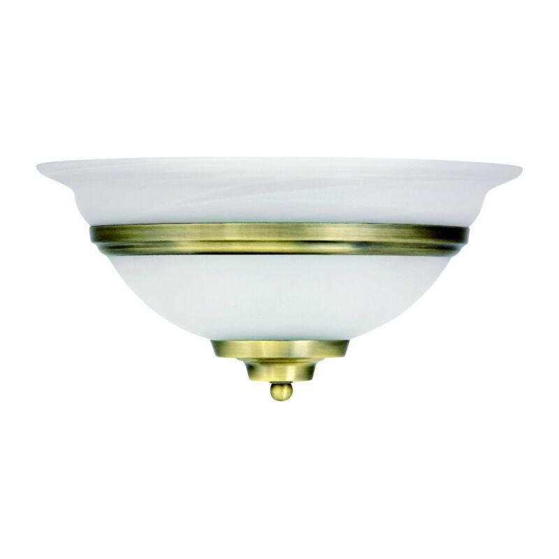 Globo TOLEDO 6897 fali lámpa antik sárgaréz fém 1 * E27 max. 60 W E27 1 db IP20