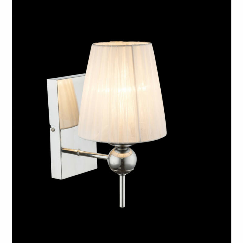 Globo COCLE 69034W fali éjjeli lámpa króm 1 x E14 max. 40w E14 1 db IP20