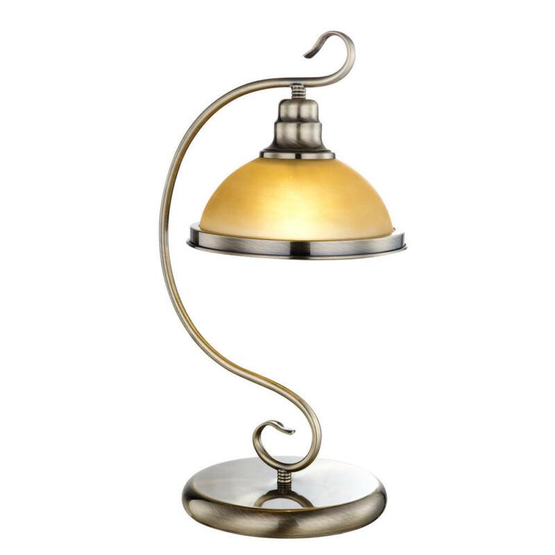 Globo SASSARI 6905-1T íróasztal lámpa antik réz 1 * E27 max. 60 W E27 1 db
