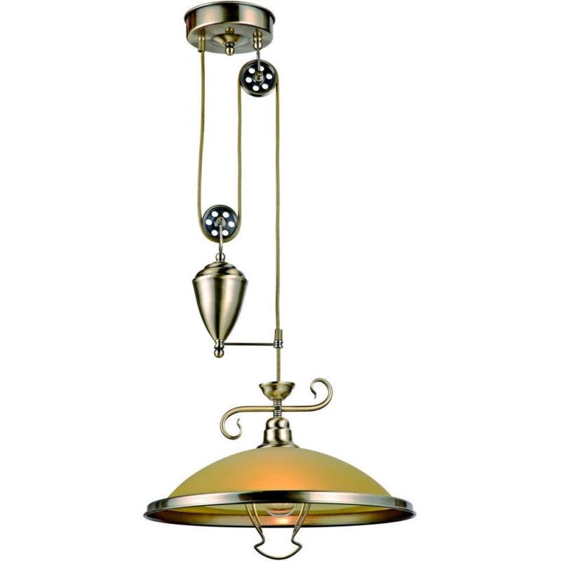 Globo SASSARI 6905Z étkező lámpa antik réz 1 * E27 max. 60 W E27 1 db