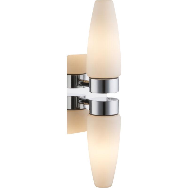 Globo PITON 78160-2 fürdőszoba fali lámpa króm 2 * E14 max. 25 W E14 2 db IP44