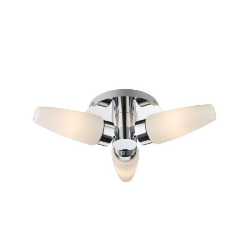 Globo PITON 78160-3D fürdőszoba mennyezeti lámpa króm 3 * E14 max. 25 W E14 3 db IP44
