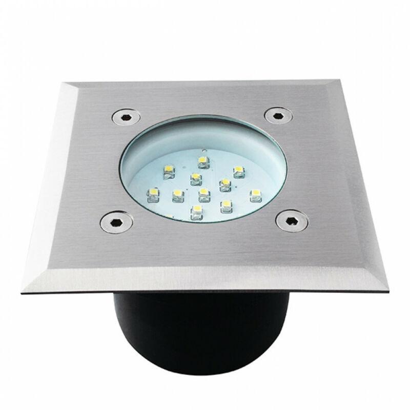 Kanlux Gordo 22051 talajba süllyeszthető lámpa rozsdamentes acél LED - 1 x 0,7W 6500 K IP66