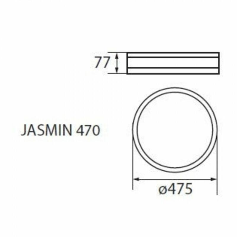 Kanlux Jasmin 23122 mennyezeti lámpa  wenge   fa   3 x E27 max. 60W   IP20