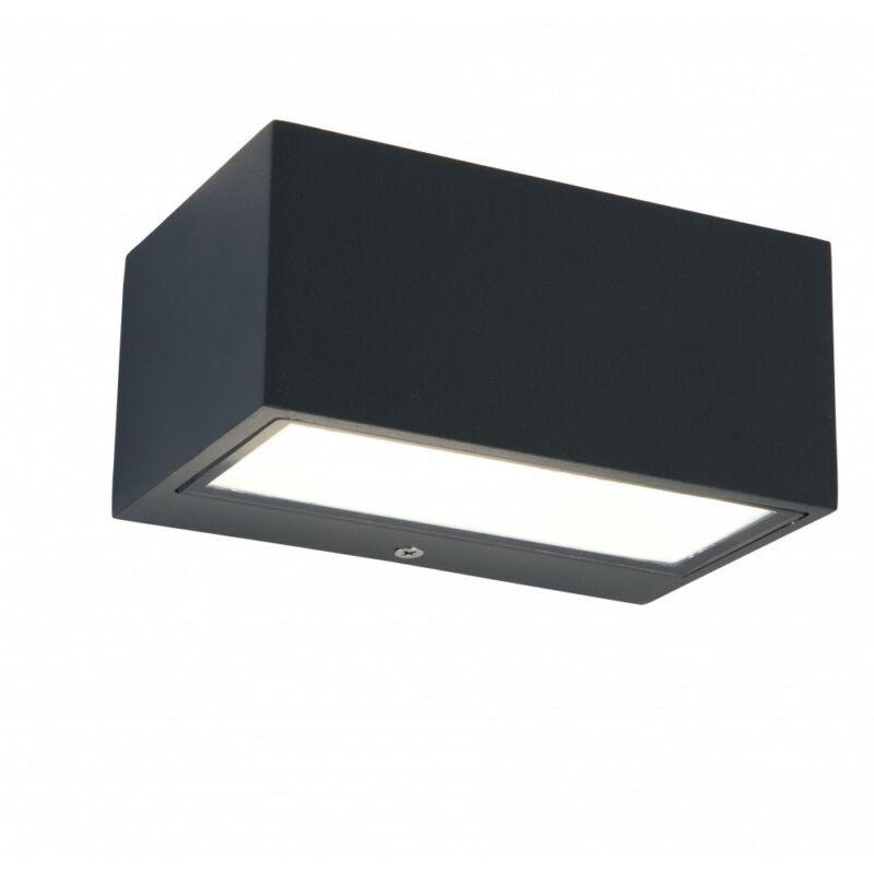 Lutec GEMINI 5189102118 kültéri fali led lámpa sötétszürke alumínium Seoul 2835 LED 1 db 500 lm 4000 K IP54 A+