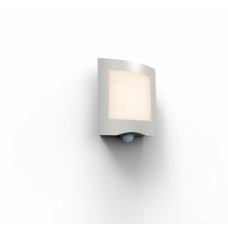 Lutec FARELL 5194802001 mozgásérzékelős led rozsdamentes acél rozsdamentes acél Lextar 2835 LED 1 db 900 lm 3000 K IP44 A+