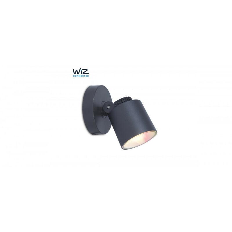 Lutec EXPLORER 6609204118 wiz connected sötétszürke alumínium BRIDGELUX-2835、HONGLI-5050 LED 1 db 430 lm 2700 K IP54 A+