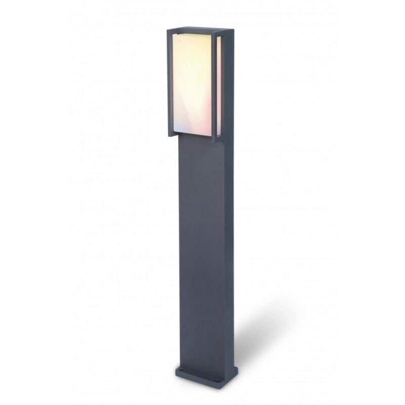 Lutec QUBO 7193002118 wiz connected sötétszürke alumínium BRIDGELUX-2835、HONGLI5050 LED 1 db 1000 lm 2700 K IP54 A+