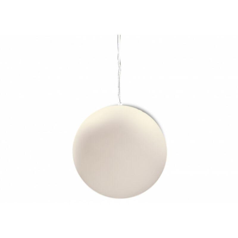 Mantra BALL 1397 kültéri függeszték fehér műanyag 1xE27 max. 13 W E27 1 db IP44